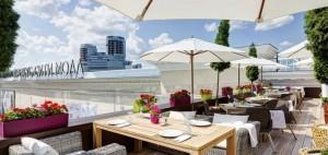 Зонты для отеля, летних площадок и кафе