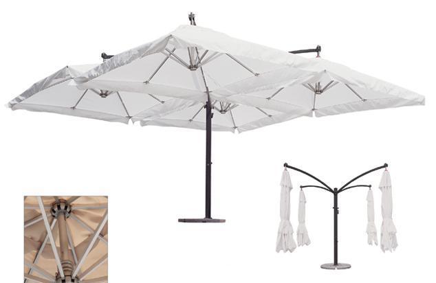 Зонт  «Quadro XL» — 6х6м.