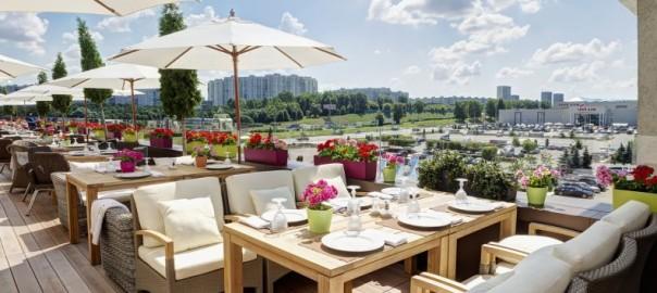 Зонты для ресторанов, отеля и кафе