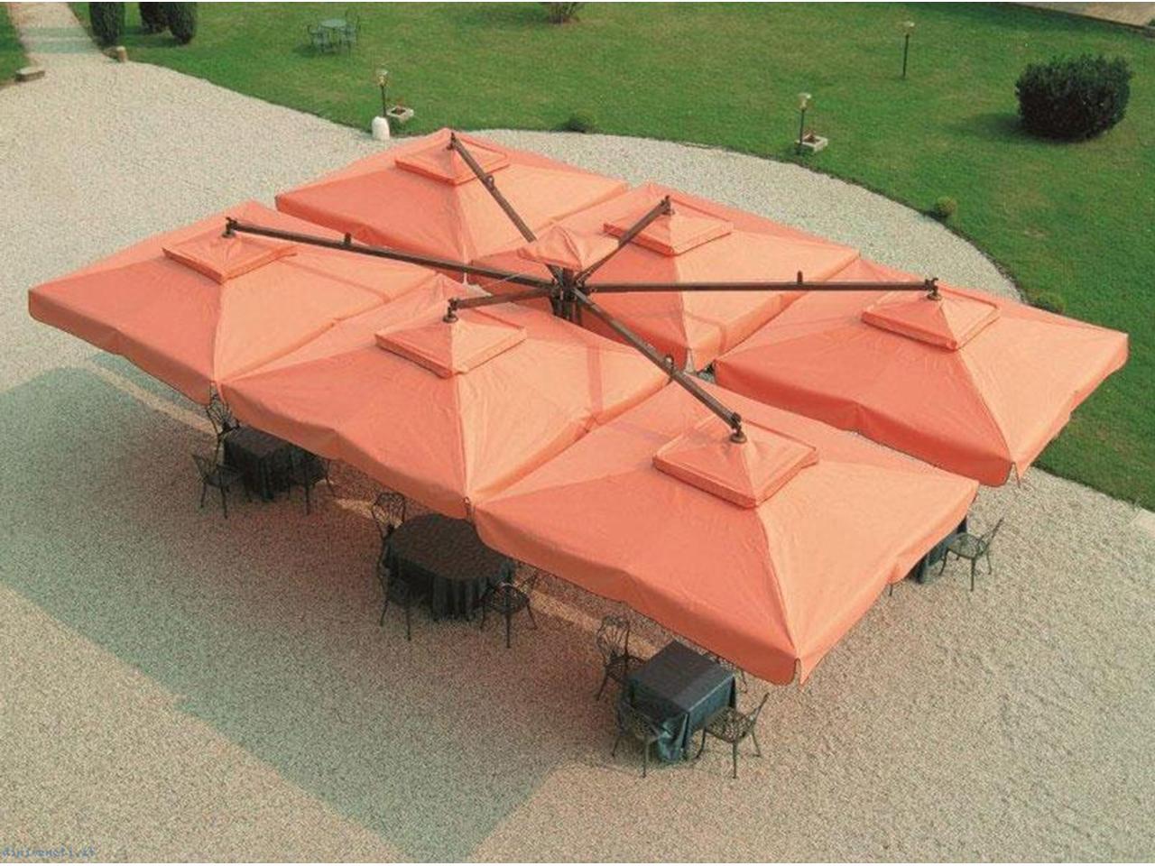 Надежные зонты для кафе