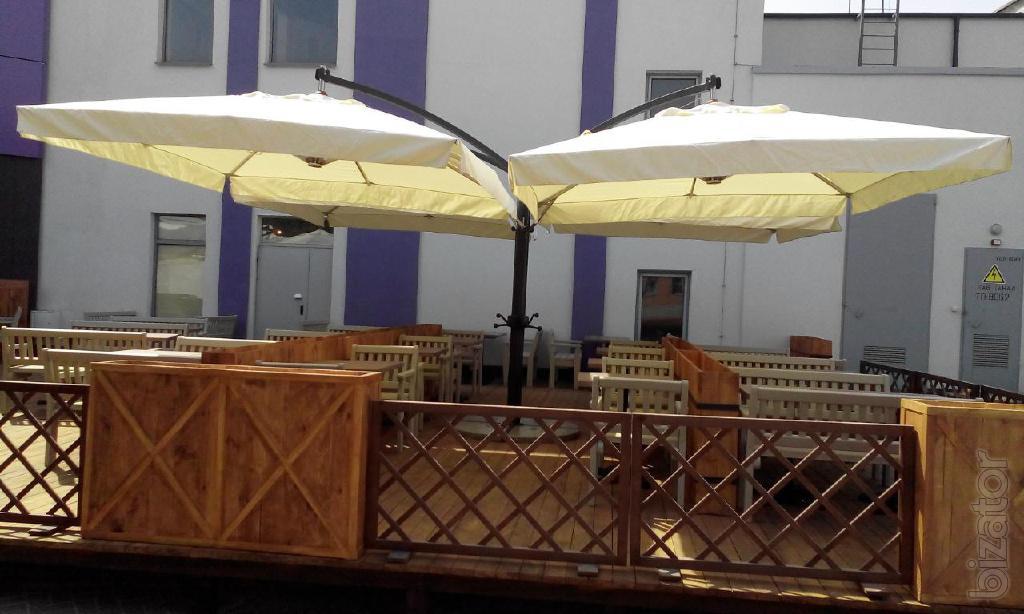 Зонты для летних площадок