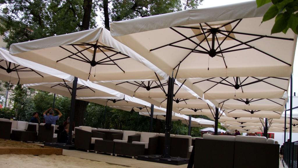 Зонт для кафе